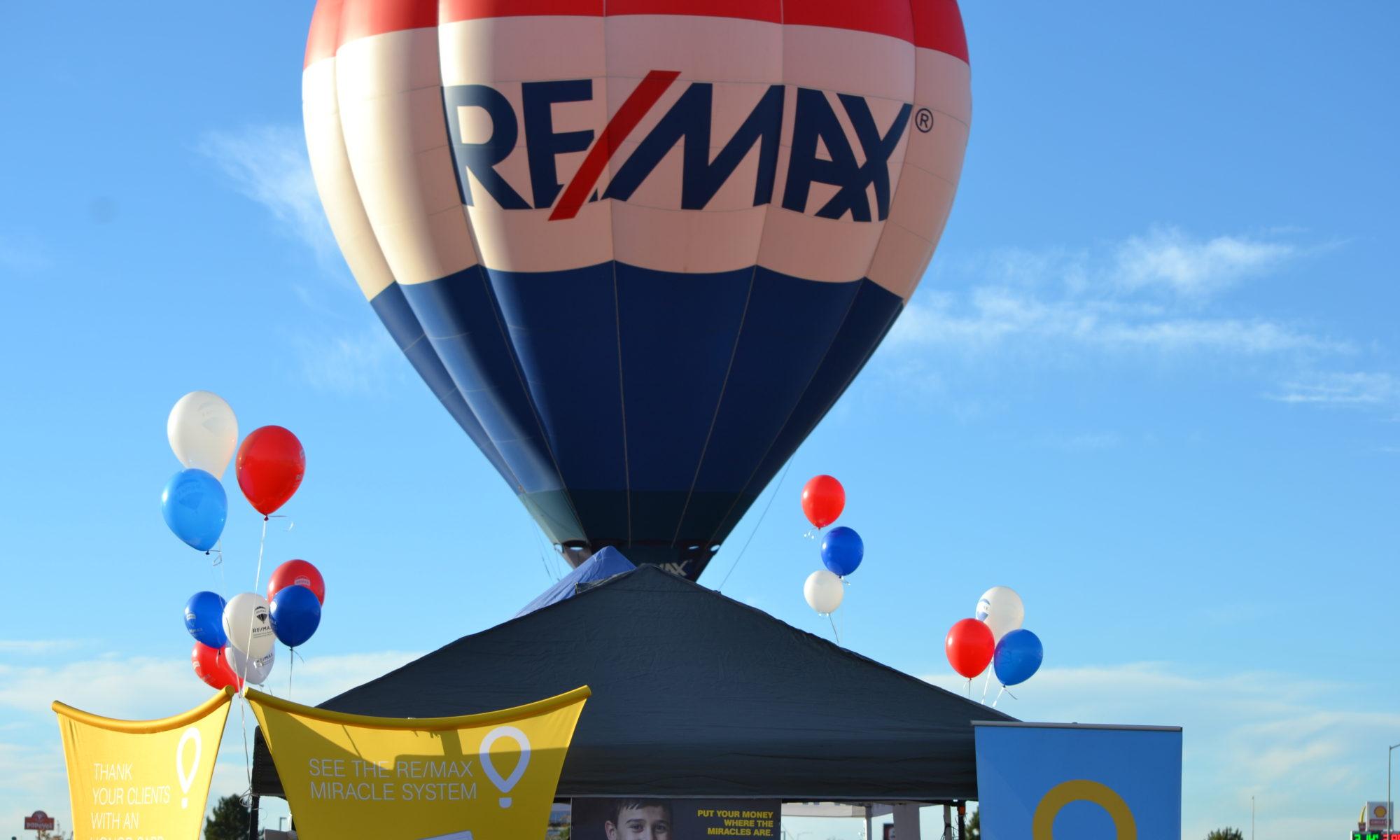 RE/MAX NEXUS Fall Festival hot air balloon